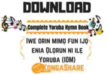 Download Complete Yoruba Hymn Book (Iwe Orin Mimo) in PDF - Iwe Orin Mimo