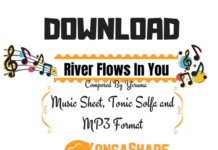 Download River Flows In You piano music sheet