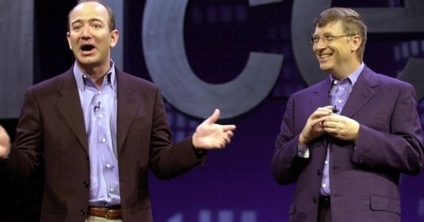 Amazon's Jeff Bezos Defeats Bill Gates in Fresh Rich-list