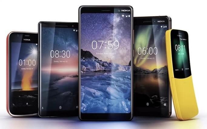 Nokia android phones & price list 2018