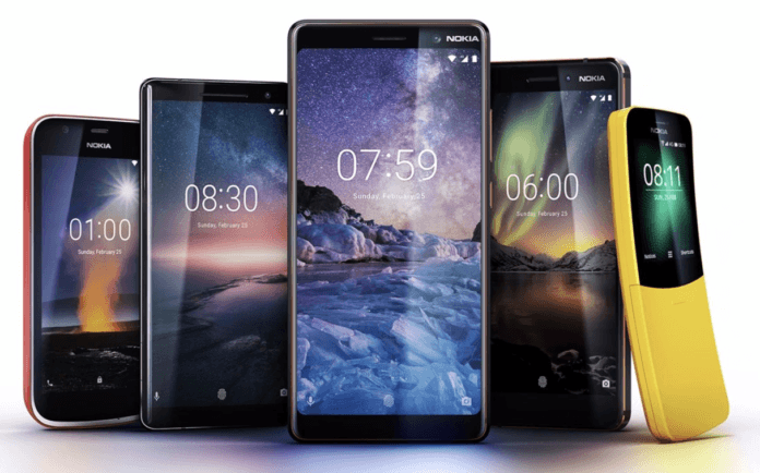 Nokia android phones & price list 2018