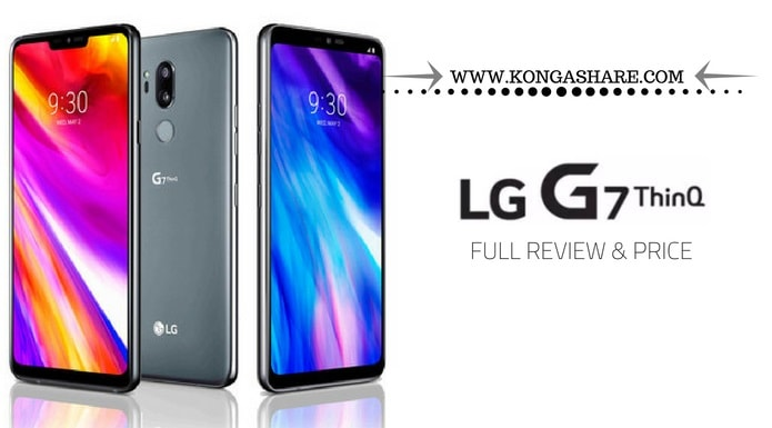 LG G7+ ThinQ Is Out with Amazing Features – Photo's
