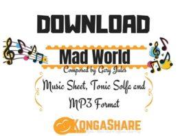 Download Mad World Piano Sheet Music kongashare.com...mon