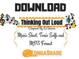 thinking out loud piano sheet music
