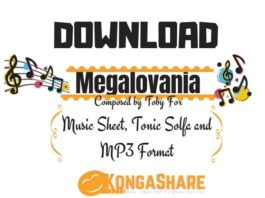 Download Undertale Megalovania Sheet Music kongashare.com..-min