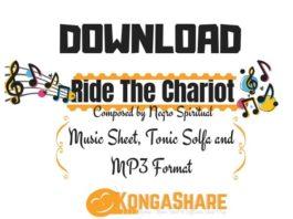 Ride The Chariot Sheet Music - Negro Spiritual kongashare.com..-min