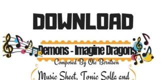 Download Free Demons - Imagine Dragons sheet music kongashare