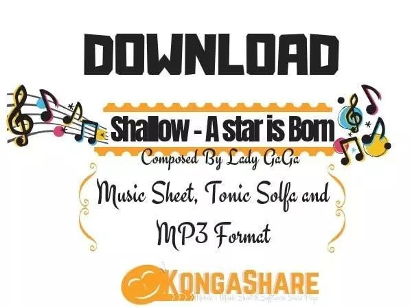 Download Shallow – A Star Is Born (lady Gaga) Sheet Music In Pdf