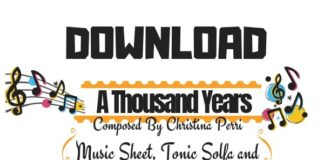 Download A Thousand Years Sheet Music by Christina Perri