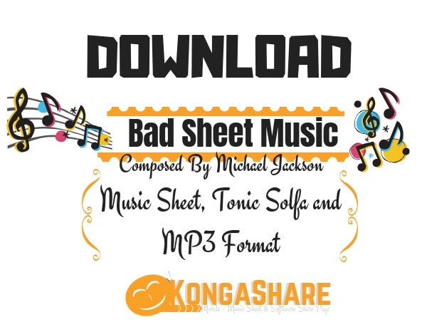 Download Bad (Piano Solo) - Michael Jackson sheet music