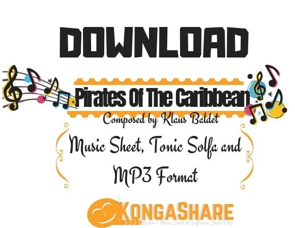 Download Pirates Of The Caribbean Sheet Music By Klaus Baldet-kongashare.com_m-min
