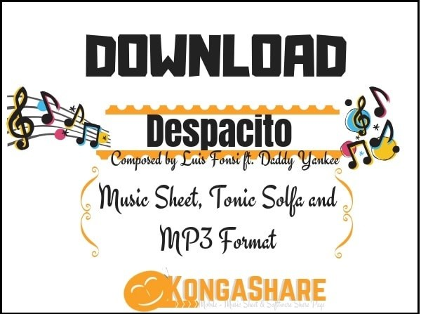 Download Despacito sheet music - Luis Fonsi ft. Daddy Yankee kongashare.com..-min.jpg