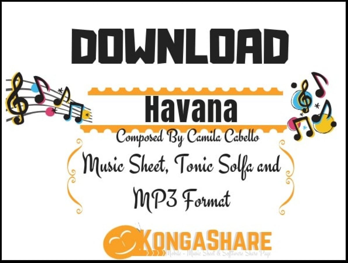 Havana Sheet Music For Piano In Pdf Mp3 By Cam