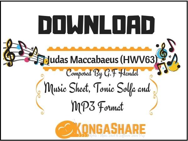 Download Judas Maccabaeus HWV 63 Music Sheet in PDF_ kongashare.com..m.jpg