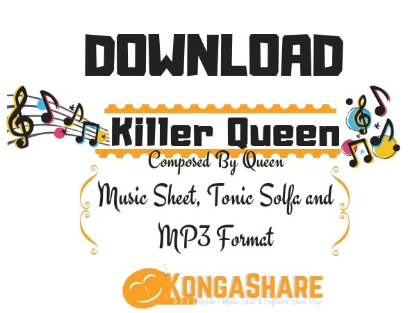 Download Killer Queen Sheet Music By Queen