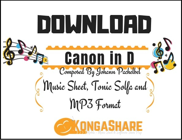 Canon in D sheet music by Johann Pachelbel for Piano in PDF or MP3_ kongashare.com..m.jpg