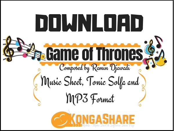 Download Game of Thrones sheet music by Ramin Djawadi in PDF and MP3_ kongashare.com_m-min.jpg