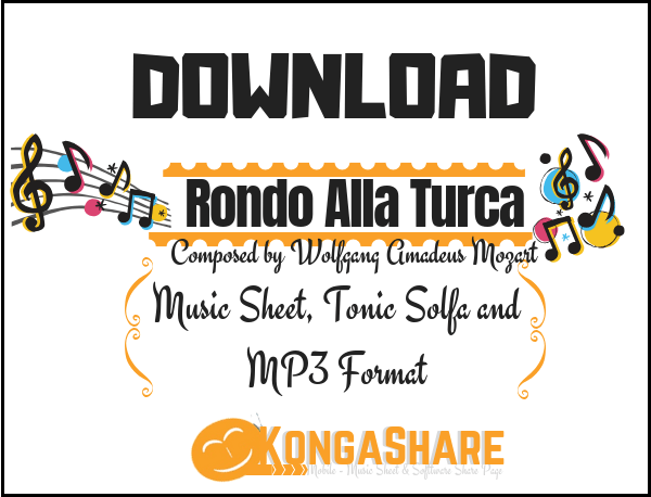 Download Rondo Alla Turca sheet music in PDF and MP3_ kongashare.com_m.png