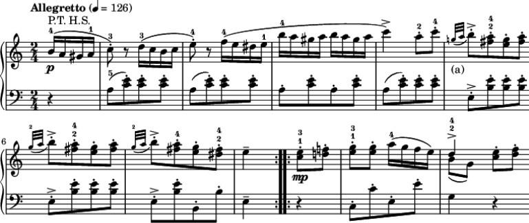 Rondo Alla Turca sheet music