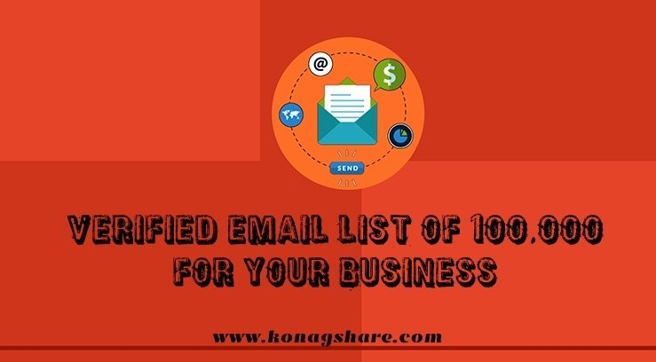 Verified Email List Of 100000 For Your Business