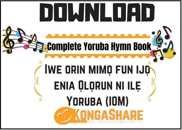 Download Yoruba Hymn Book Music Sheet – Iwe Orin Mimo