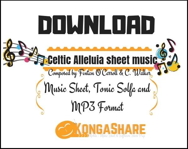 Download Celtic Alleluia sheet music (Score, Lyrics) in PDF and MP3