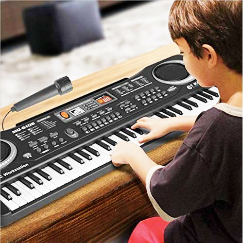 Best of Electronic Digital Piano for Kids - Musical instrument Kit with Microphone Music (1)-min