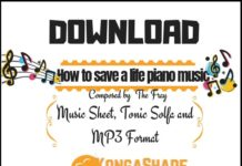 Download How to save a life sheet music by the fray in Pdf and MP3_kongashare.com_m-min