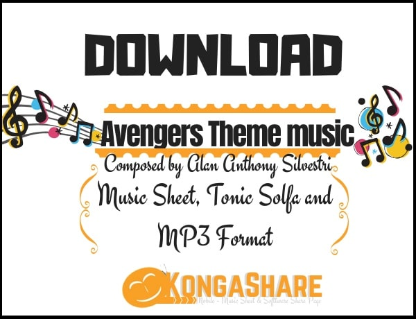 download Avengers Theme sheet music by Alan Sivestri in Pdf and MP3_kongashare.com_m-min.jpg
