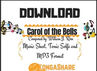 download Carol of the Bells sheet music by william ross in Pdf and MP3