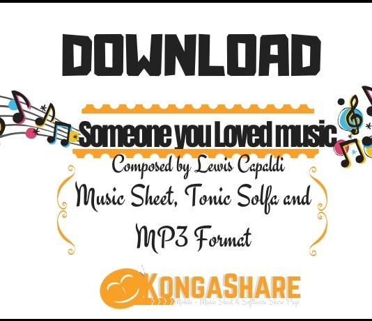 download someone you loved sheet music by lewis capaldi in Pdf and MP3_kongashare.com_m-min