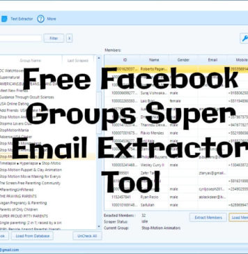 Download Free Facebook Groups Super Email Extractor Tool_kongashare.com_m