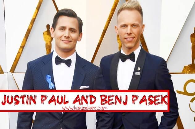 Justin Paul and Benj Pasek Biography - A million dreams sheet music composer_kongashare.com_min.jpg