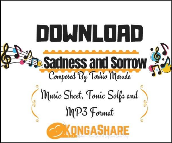 Download Sadness and Sorrow Piano sheet music by Toshio Masuda in PDF_kongashare.com_mm-min