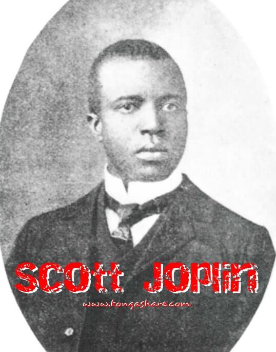 The Entertainer sheet music - Scott Joplin picture