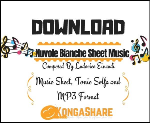 """Una Mattina Sheet Music """"Ludovico Einaudi"""" for Piano in PDF"""