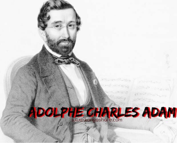 Download O Holy Night sheet music  - Adolphe Charles Adam biography_kongashare.com-min