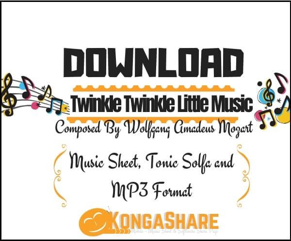 Twinkle Twinkle Little Star sheet music (12 Variations) in PDF…