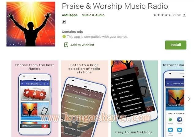 Free Christian Music Apps on Google Play in 2020 - Praise & Worship Music app Picture_kongashare.com_mm
