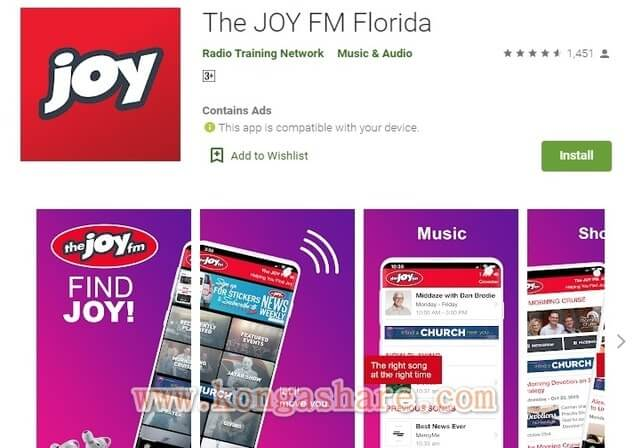 Free Christian Music Apps on Google Play in 2020 - The JOY FM App Picture_kongashare.com_mmn