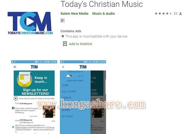 Free Christian Music Apps on Google Play in 2020 - Today's Christian Music app Picture_kongashare.com_mm