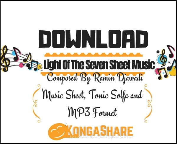 "Light of the seven sheet music ""Ramin Djawadi"" in PDF & MP3"