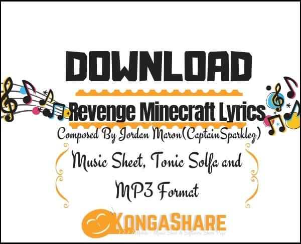 Revenge Minecraft Lyrics with Sheet Music in PDF & MP3