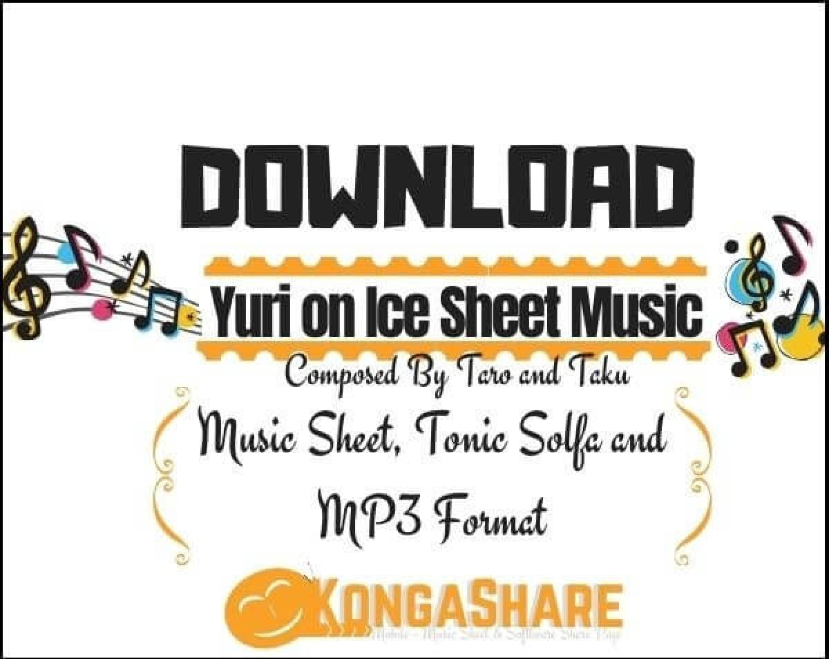 yuri!!! on ice piano sheet music