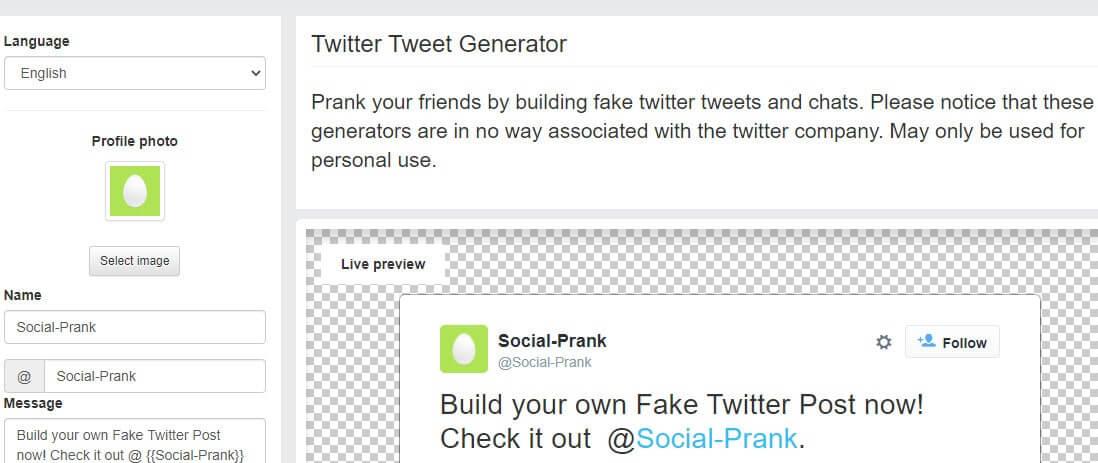 Top 5 Fake Tweet Generator Tools - Fake Twitter Generator_kongashare.com_z