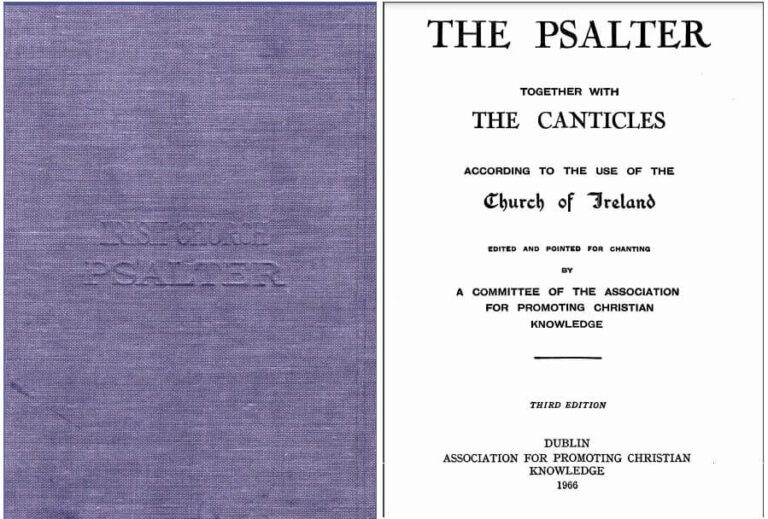 The Psalter with The Canticles [Sheet Music] Book in PDF