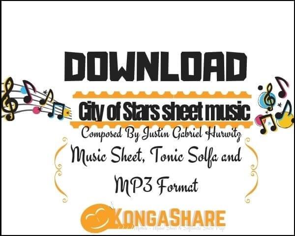 Download City of Stars piano sheet music in PDF/MIDI.