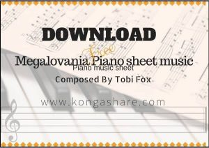 Download Megalovania Piano Notes [Sheet Music]in PDF/MP3