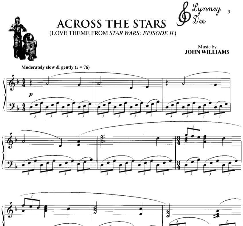 across the stars piano sheet music pdf midi_kongashare.com_mm
