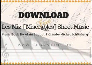 les miz piano miserables music book sheet music pdf